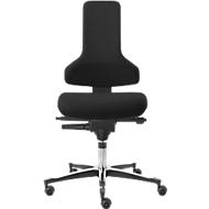 Werkstoel TEC-profiel IS 2011_ESD AS, ESD geleidend, Syncro-Automatik®, zonder armleuningen, zwart