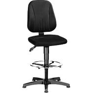 Werkstoel Unitec met glijders en opstaphulp