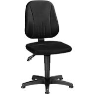 Werkstoel Unitec, met glijders