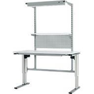 Werktafel gemotoriseerd in hoogte verstelbaar