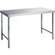 Werktafel, rvs, 1200 x 600 x 850 mm