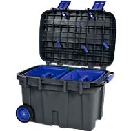 Werkzeugbox Raaco Toolchest, fahrbar, ergonomischer Handgriff, Polypropylen, 75 Liter