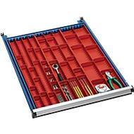 Werkzeugmulden, B 33, 45 und 70 mm, für Schubladenhöhe 50 mm