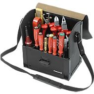 Werkzeugtasche aus extra starkem Rindleder