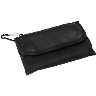 Werkzeugtasche TOOL, Oxford Baumwollgewebe, schwarz,  20-teilig, Tampondruck 1-farbig 70 x 30 mm