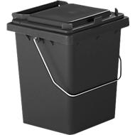 Wertstoffsammler Mülli, anthrazit