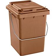 Wertstoffsammler Mülli, braun