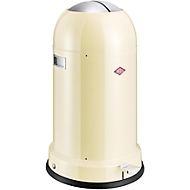 WESCO pedaalemmer Kickmaster, 33 liter, Ø 346 X H 710 mm, amandel