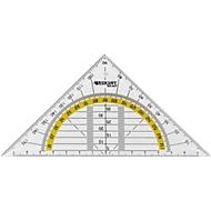Westcott Geodriehoek, standaard, 16 cm