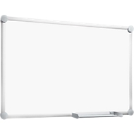 Whiteboard 2000 MAULpro, frame alu zilver, 600 x 450 mm, gelakt oppervlak