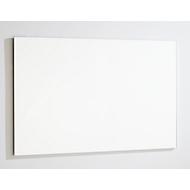 Whiteboard 84068, für Wandmontage im Querformat, Stahlblech weiß lackiert, magnethaftend, Alurahmen, Ablageschale & Montagematerial, B 1200 x H 900 mm