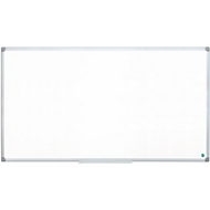 Whiteboard EARTH-IT, emailliert, Alu-Rahmen, 1800 x 900 mm