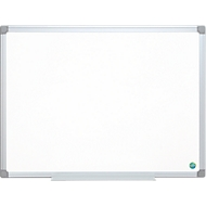 Whiteboard EARTH-IT, geëmailleerd, aluminium frame, 600 x 450 mm