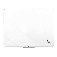Whiteboard Franken Home Line, wit gelakt, frameloos ontwerp, magnetisch, B 900 x H 600 mm