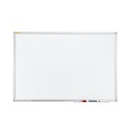 Whiteboard Franken X-tra! Lijn, wit geëmailleerd, antimicrobieel, magnetisch, B 900 x H 600 mm