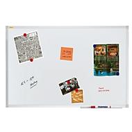 Whiteboard Franken X-tra!Line®, weiß lackiert, magnethaftend, 600 x 450 mm