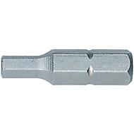WIHA Sechskant-Bit 1/4 Inch C 6,3 SW 2,5 mm 25 mm Ausführung Z