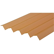 Winkelkanten-Schutzleisten aus Vollpappe, 700 x 35 x 35 x 3,0 mm, 25 Stück