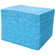 Wipex-FSW-speciale-poetsdoeken, speciaal voor de levensmiddelenindustrie, per stuk, 40 st. blauw