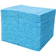 WIPEX speciale reinigingsdoek FSW, speciaal voor de levensmiddelenindustrie, per vel, blauw, pak van 20 stuks