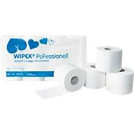 WIPEX toiletpapier PoFessional, 250 vellen per rol, 2-laags, 64 rollen