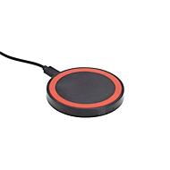 Wireless Charger, Schwarz/Rot, Standard, Auswahl Werbeanbringung optional