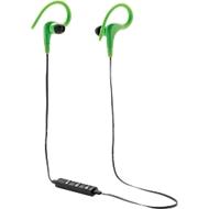 Wireless Sport Kopfhörer, kabellos, Bluetooth 4.0, optional m. Werbeanbringung, grün