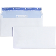 Witte enveloppen, C6, zelfklevend; zonder venster, 500 stuks