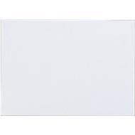 Witte enveloppen,EA 5, gegomd, zonder venster, 500 stuks