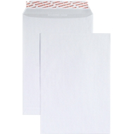 Witte verzendenveloppen C4, 90 g/m², 250 stuks