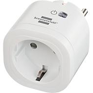 WLAN-stekkerdoos brennenstuhl® Sluit WA 3000 XS01, 2,4 GHz aan, compatibel met Alexa/Google Assistant, timer