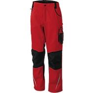 Workwear Pants, red/black, 54