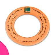 Wurfring, für Druck, Orange, Standard, Auswahl Werbeanbringung erforderlich