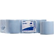 WYPALL® Chiffons d'essuyage L-10 EXTRA, prélèvement central, 6 rouleaux de 700 chiffons, 1 épaisseur, # 7265, bleu