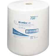 WYPALL® Chiffons d'essuyage L-30 ULTRA grand rouleau , 1000 chiffons, 3 épaisseurs, # 7331, blanc