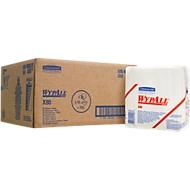 WYPALL® Chiffons d'essuyage X-80, en Hydroknit, en sachet de 200 chiffons, 1 épaisseur, blanc