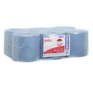 WYPALL* poetsdoek L-10 EXTRA centrale afwikkeling RCS, van Airflexmateriaal, 3150 doeken, 1-laags, blauw