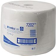 WYPALL* Wischtuch L-10 EXTRA + Großrolle, aus Airflexmaterial, 1000 Tücher, 1-lagig, weiß