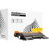XXL Toner Cartridge SSI Schäfer Shop compatibel Brother TN-2220XXL, zwart