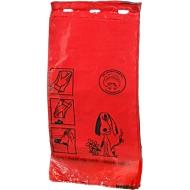Zakjes voor hondenpoep, rood, 1000 stuks