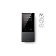 Zeiterfassungssystem TimeMoto TM-616, Wandmontage, Komplettlösung, bis 200 Nutzer, ID per RFID/PIN, USB/LAN/WLAN, 5 RFID-Karten