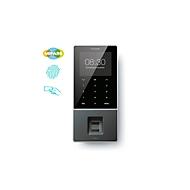 Zeiterfassungssystem TimeMoto TM-828 SC MIFARE, Wandmont., Komplettlösung, bis 2000 Nutzer, ID per RFID/MIFARE/PIN/Finger, USB/LAN/WLAN, 5 RFID-Karten