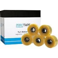 ZeroTape® rubans adhésifs d'emballage 200, paquet de 6 rouleaux, transparent