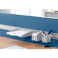 Zettelbox für Tisch-Trennwände