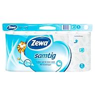 Zewa Toilettenpapier Samtig weiß, 16 x 140 Blatt, fusselfrei