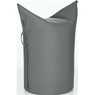 Zipfelhocker WERTHER, Outdoor Stoff, Sitzhöhe 500 mm, inkl. Griffschlaufe, carbon