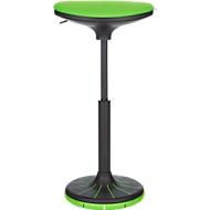 Zithulp/stahulp SSI PROLINE P 3D, ergonomisch, gepatenteerde onderkant voet, groen/zwart-groen