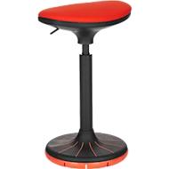 Zithulp/stahulp SSI PROLINE P 3D, ergonomisch, gepatenteerde onderkant voet, zwart/zwart-rood