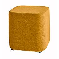 Zitkruk TAPA Square O Type, scheerwol, B 450 x D 450 x H 470 mm, oranje