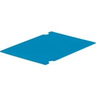 Zwischenlage ZL 43 PP, f. Kleinladungsträger C-KLT, B 400 x T 300 mm, hellblau